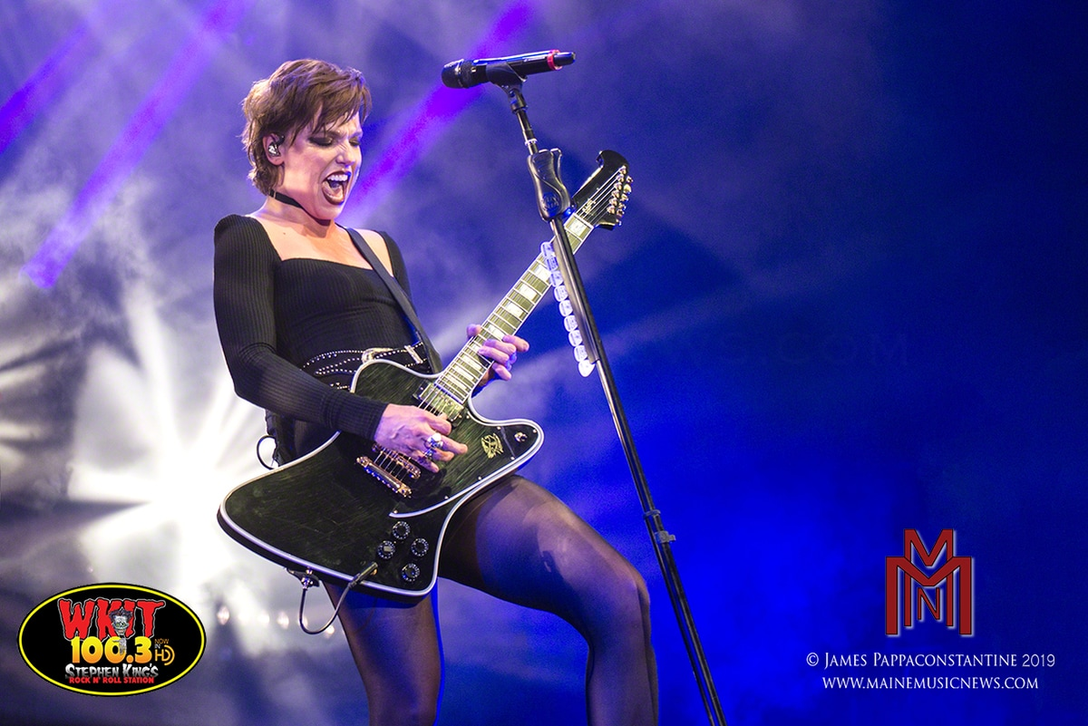 Halestorm – Bank of New Hampshire Pavilion – Gilford, NH. – 08/11/2019