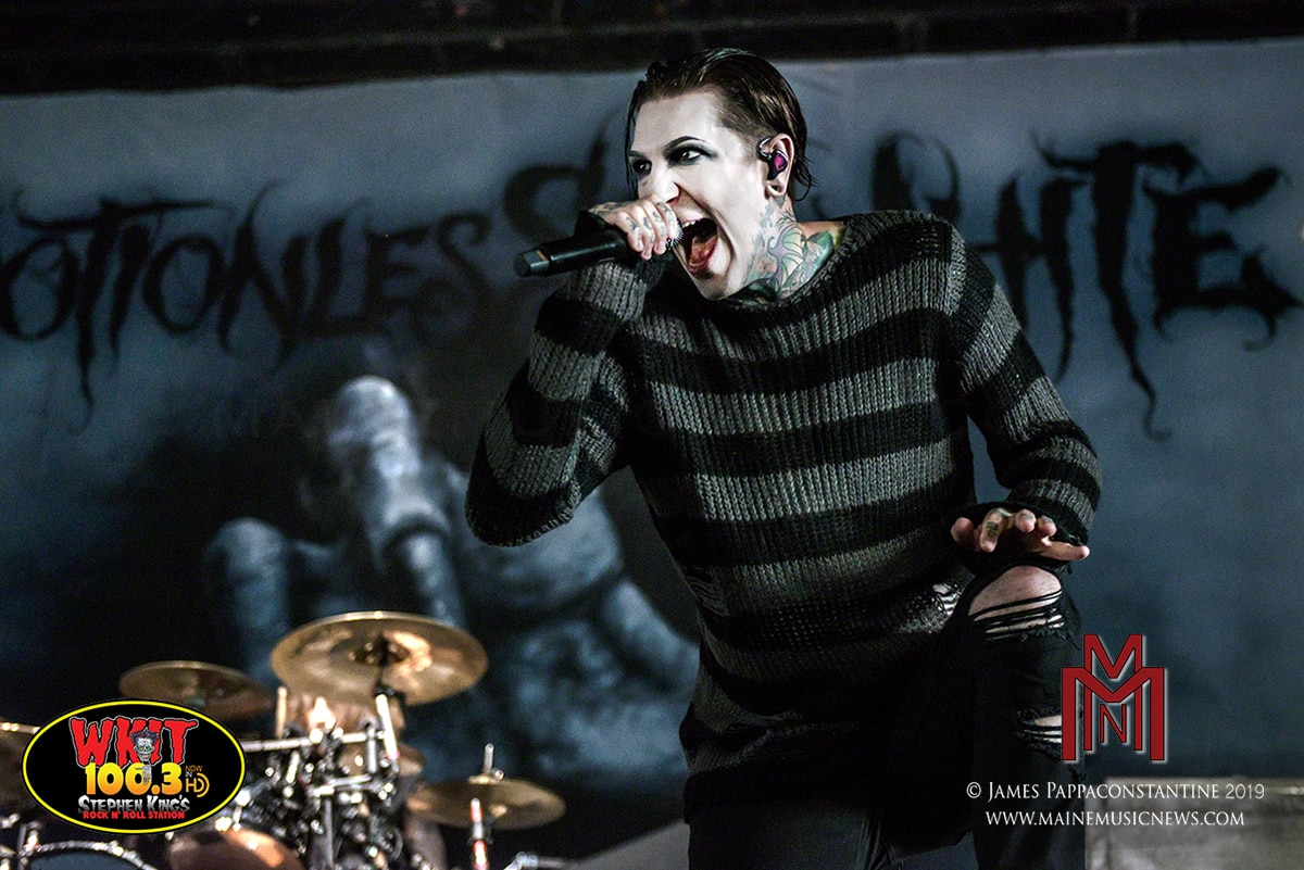 Motionless in White – Bank of New Hampshire Pavilion – Gilford, NH. – 8/11/2019