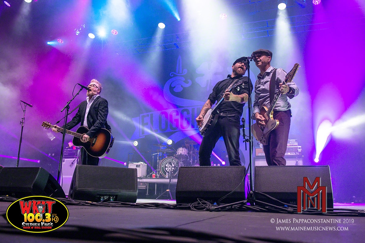 Flogging Molly – Rock Row – Westbrook, ME. – 08/30/2019