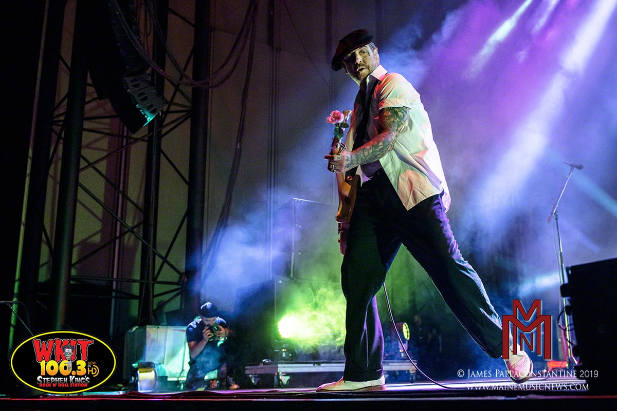 Social Distortion – Rock Row – Westbrook, ME. – 08/30/2019